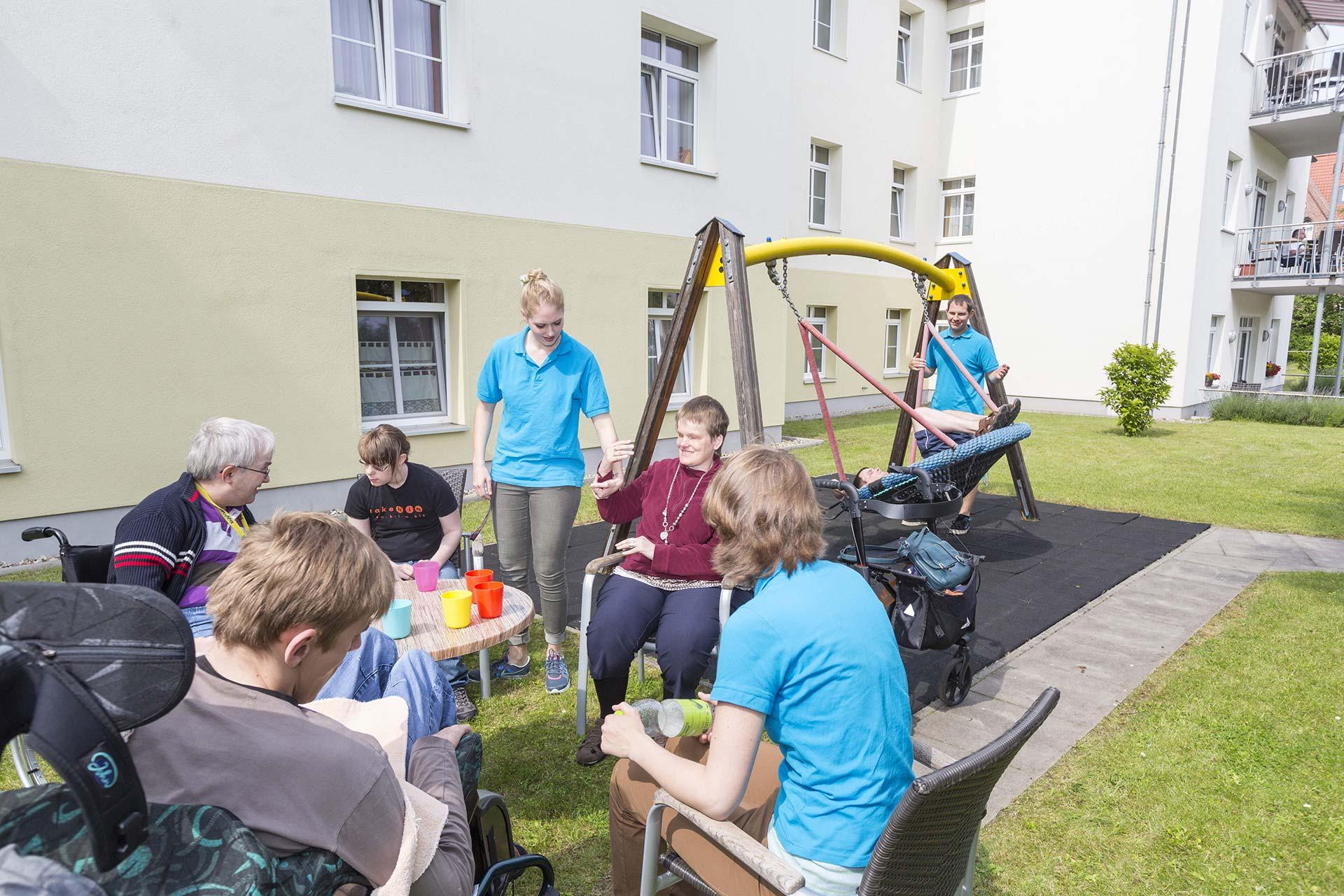 Sonnengarten - Menschen mit Behinderungen